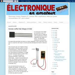 Électronique en amateur: Sonde à effet Hall Allegro A1302