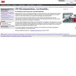 3M France - Electronique, Electricité et Communications - Premiers soins : une valisette complète pour les électriciens