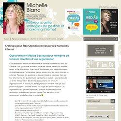 Michelle Blanc, M.Sc. commerce électronique. Marketing Internet, consultante, conférencière et auteure Michelle Blanc, M.Sc. commerce électronique. Marketing Internet, consultante, conférencière et au