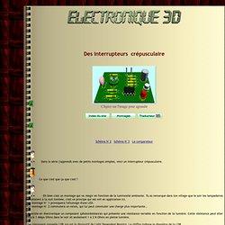 Montages electronique - Interrupteur crépusculaire - La photrésistance LDR 03 - AOP monté en comparateur,La LDR03,La LDR05