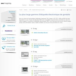 EEG : L'étiquette électronique de gondole