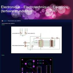 Thermometre avec LM3914 - Electronique - Electrotechnique - Electricité (tertiaire et industriel)
