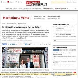 La cigarette électronique fait un tabac