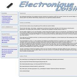 Electronique amateur - Fabriquer une insoleuse