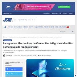 La signature électronique de Connective intégrée à FranceConnect