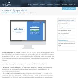 Vote électronique par Internet - Neovote