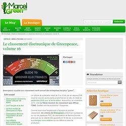 Le classement électronique de Greenpeace, volume 16