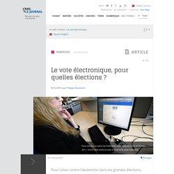Le vote électronique, pour quelles élections