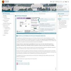 Vote électronique - République et canton de Genève (Suisse) - ge.ch