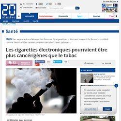 Les cigarettes électroniques pourraient être plus cancérigènes que le tabac