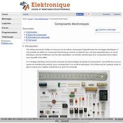 Composants électroniques - Cours d'électronique