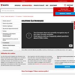 Solutions électroniques - Würth Industrie France - Partenaire de l'industrie, Management pièces C, Système Kanban