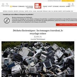 Déchets électroniques: les tonnages s'envolent, le recyclage coince