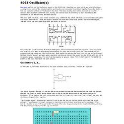 Electronoize Playshop: 4093 Oscillator