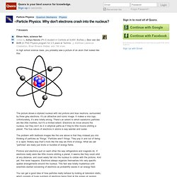Ethan Hein's answer to Particle Physics: Why don't electrons crash into the nucleus