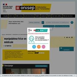 manipulateur / manipulatrice en électroradiologie médicale - Onisep