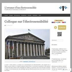 Colloque sur l'électrosensibilité