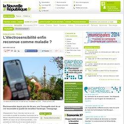 L'électrosensibilité enfin reconnue comme maladie ? - 05/11/2013