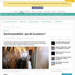 Electrosensibilité : que dit la science ?