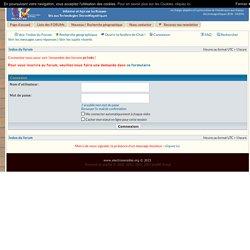 Forum des électrosensibles (Priartem / Electrosensibles de France (www.electrosensible.org))