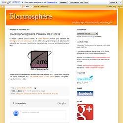 Electrosphère@Carré Parisien, 02.01.2012