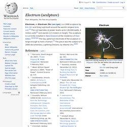Electrum (sculpture)