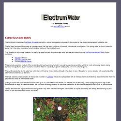 Electrum Water