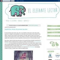 El elefante lector: animación lectora