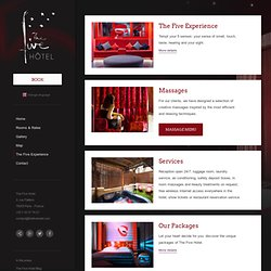 The Five Hotel – Experience Boutique Hotel Paris- OFFICIAL SITE