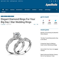 Elegant Diamond Rings For Your Big Day