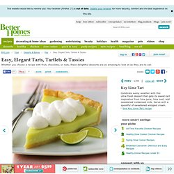 Easy, Elegant Tarts, Tartlets & Tassies