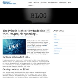 ElegantBizApps Blog - Software Product and Application Development Company