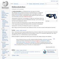 Elektrochokvåben