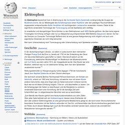 Elektrophon