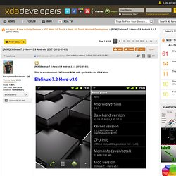 [ROM]Elelinux-7.1.0-Hero-v2.1 Android 2.3.4 (2011-05-02)
