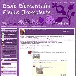Elémentaire P. Brossolette - Tomblaine - Notre 8ème Twictée se passe sur Babytwit !