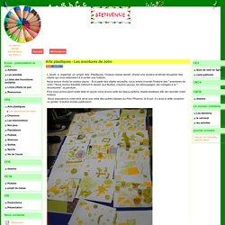 le site de l'école élémentaire de Flore 1 - Arts plastiques - Les aventures de John