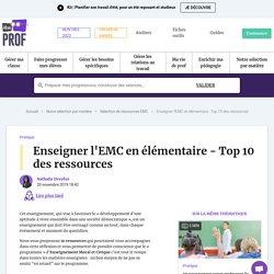 nov Enseigner l'EMC en élémentaire - Top 10 des ressources