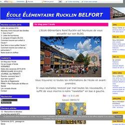 Un blog pour l'école
