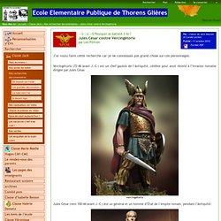 Ecole Elementaire Publique de Thorens Glières - Jules César contre Vercingétorix
