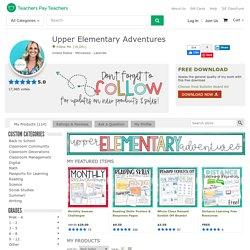 Upper Elementary Adventures Teaching Resources