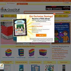 Teacher Supplies | Really Good Stuff | Teacher Store for Elementary & Preschool Classrooms