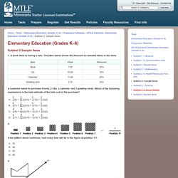 Elementary Education (Grades K–6)