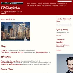 New York 4-9 ⋆ Elementary, Intermediate, Themes