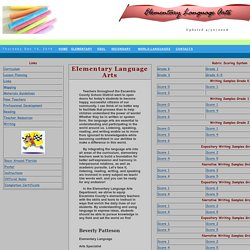 Elementary Language Arts
