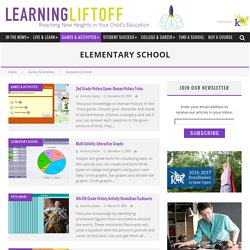 Elementary Learning Games and Activities for Math, Reading, and Science