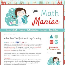 The Elementary Math Maniac: A Fun Free Tool for Practicing Counting