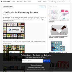 170 Ebooks for Elementary Students
