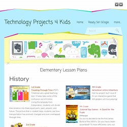 Elementary Lesson Plans - Technology Projects 4 Kids