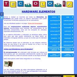 Elementos de Hardware Componentes de un Ordenador